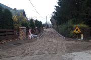 Przebudowa ulic w Komorowie