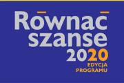 Konkurs grantowy - Równać szanse 2020