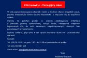 Koronawirus - Pomagajmy sobie
